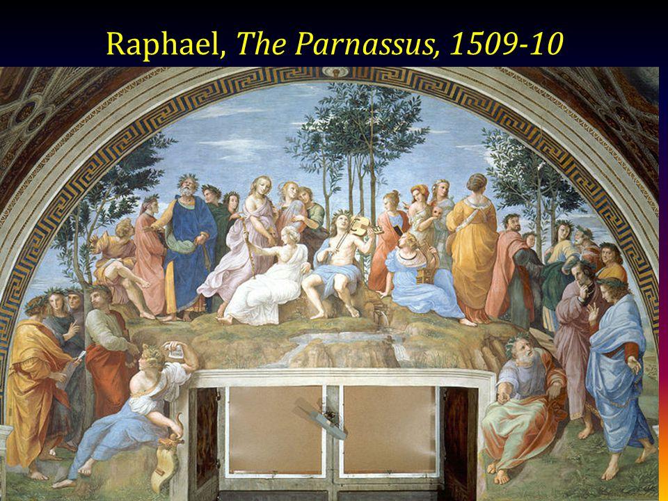 Raphael, The Parnassus, 1509-10