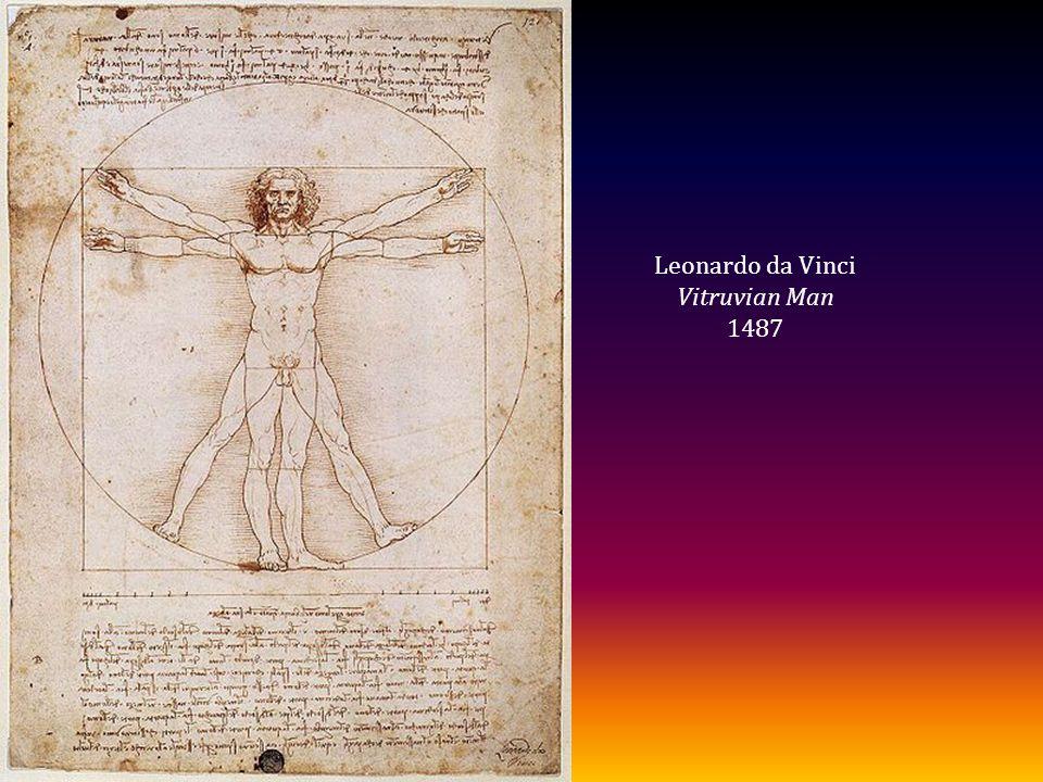 Leonardo da Vinci Vitruvian Man 1487