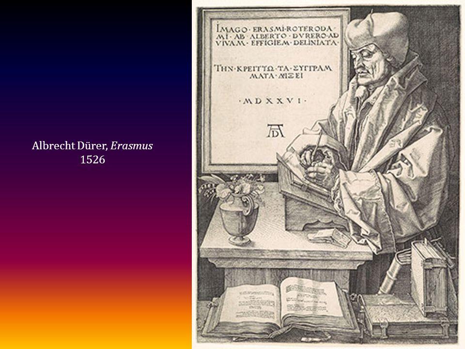Albrecht Dürer, Erasmus 1526