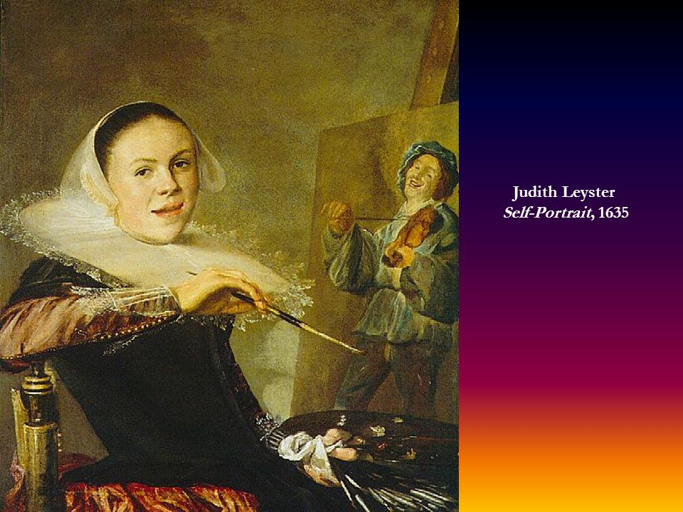 Judith Leyster Self-Portrait, 1635
