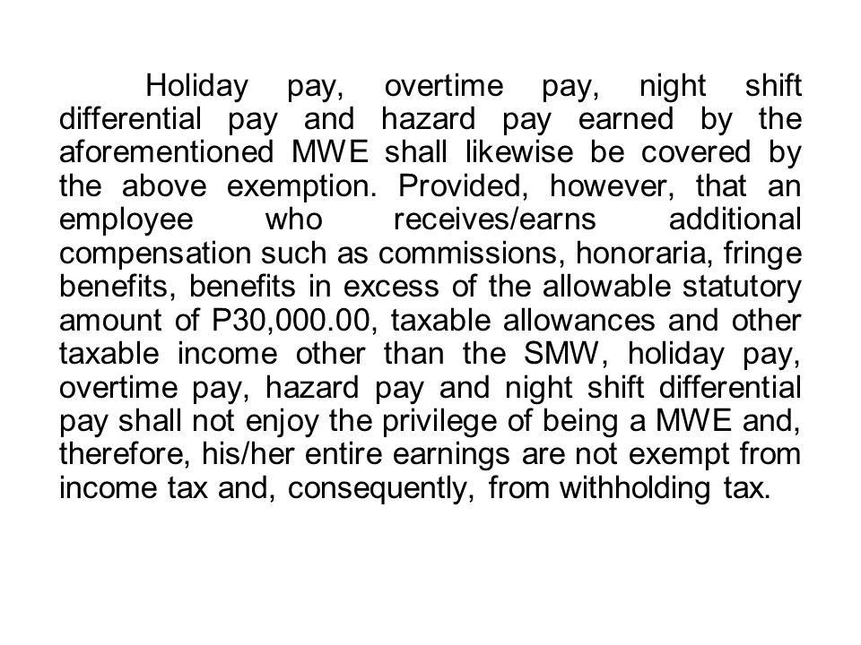 Computation of Wages I.