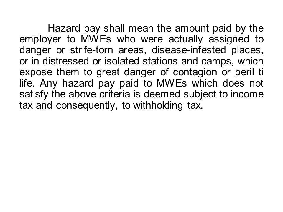 Computation of Wages III.