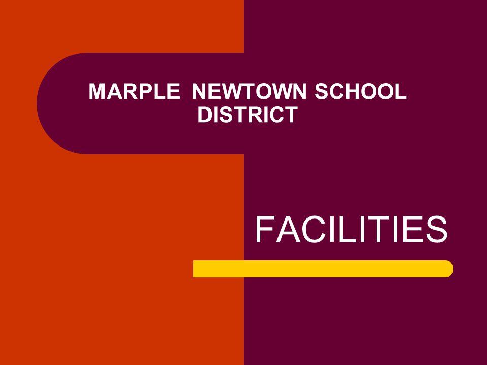 MARPLE NEWTOWN SCHOOL DISTRICT FACILITIES