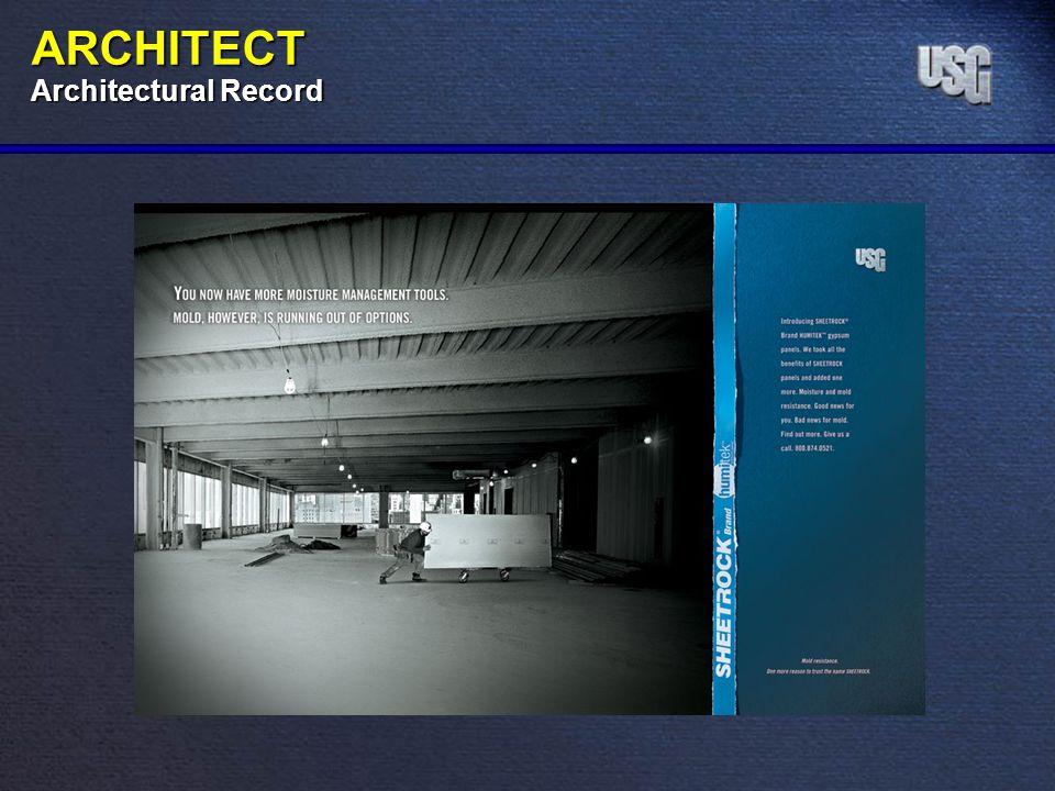 ARCHITECT Architectural Record