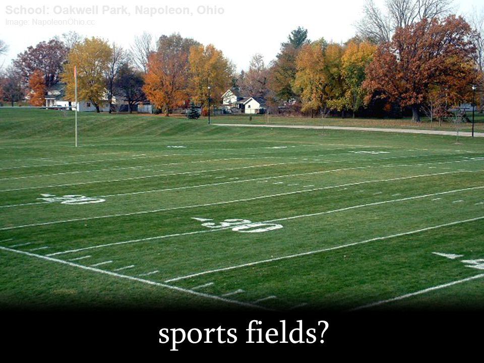 sports fields? School: Oakwell Park, Napoleon, Ohio Image: NapoleonOhio.cc