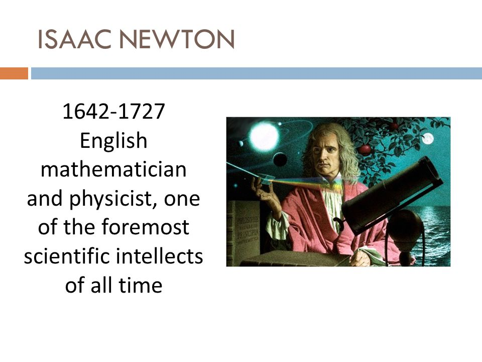 ISAAC NEWTON Where was he born?