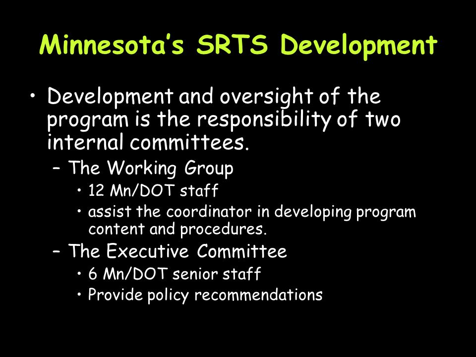 Minnesotas SRTS Funding Minnesota is expected to receive $8.3 million over the life of SAFETEA-LU (2009).