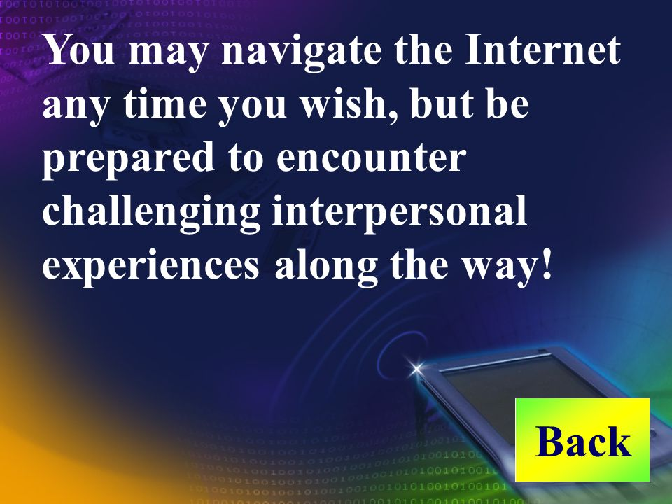 Nothing is so powerful as the Internet in connecting people all over the world since it has no physical or cultural limitations. since He must have ta