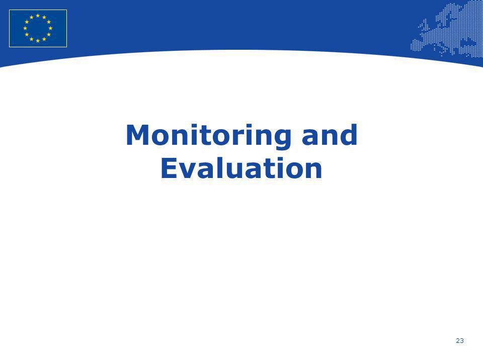 23 European Union Regional Policy – Employment, Social Affairs and Inclusion Monitoring and Evaluation