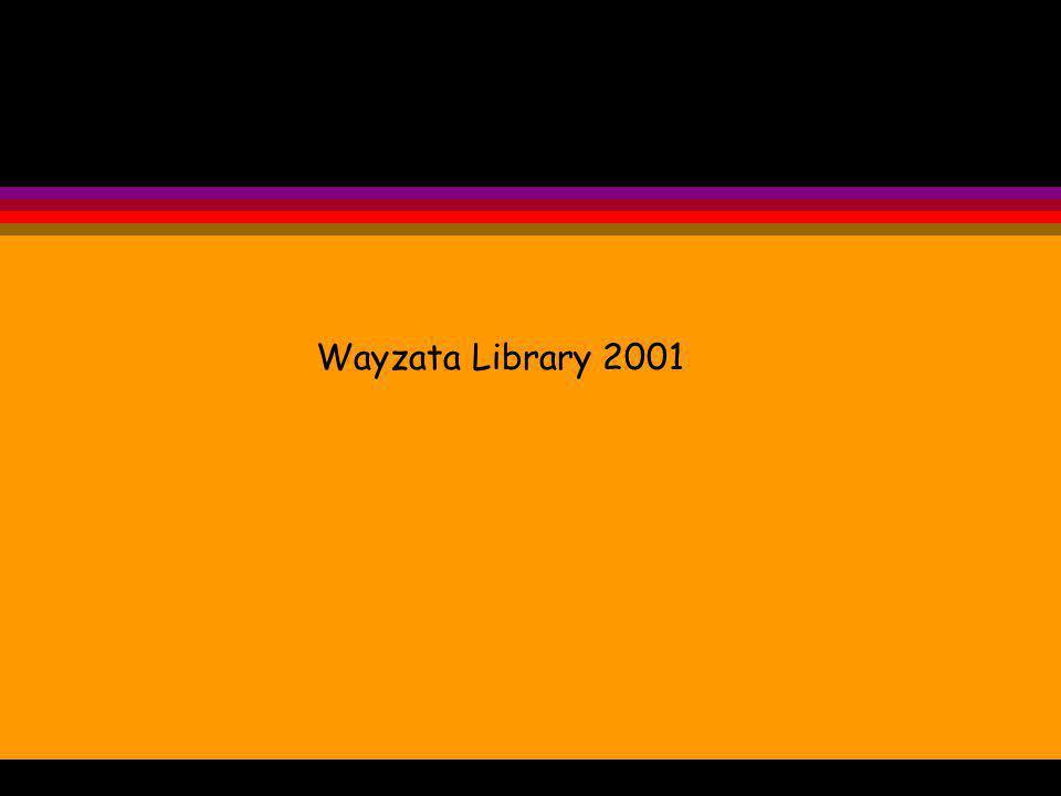 Wayzata Library 2001