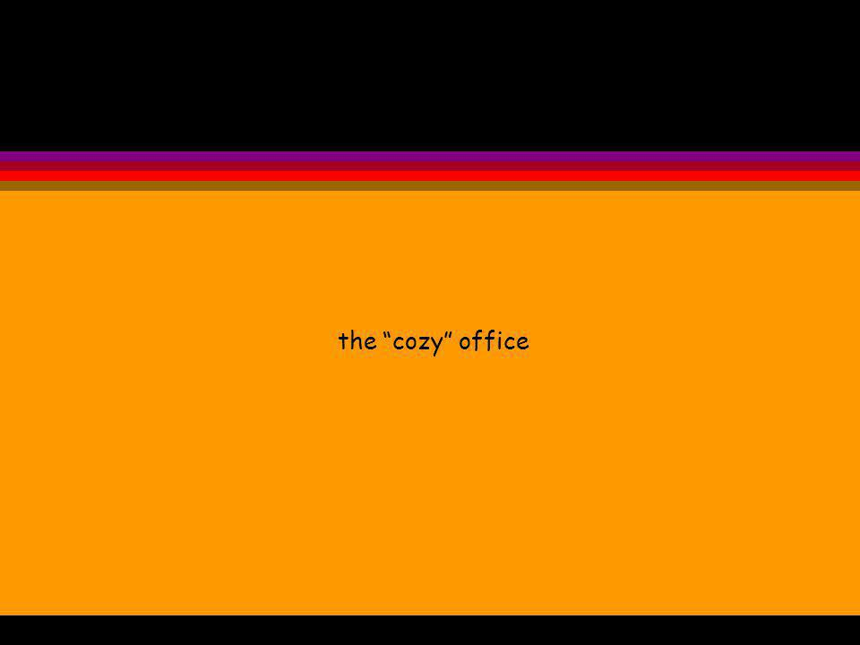 the cozy office