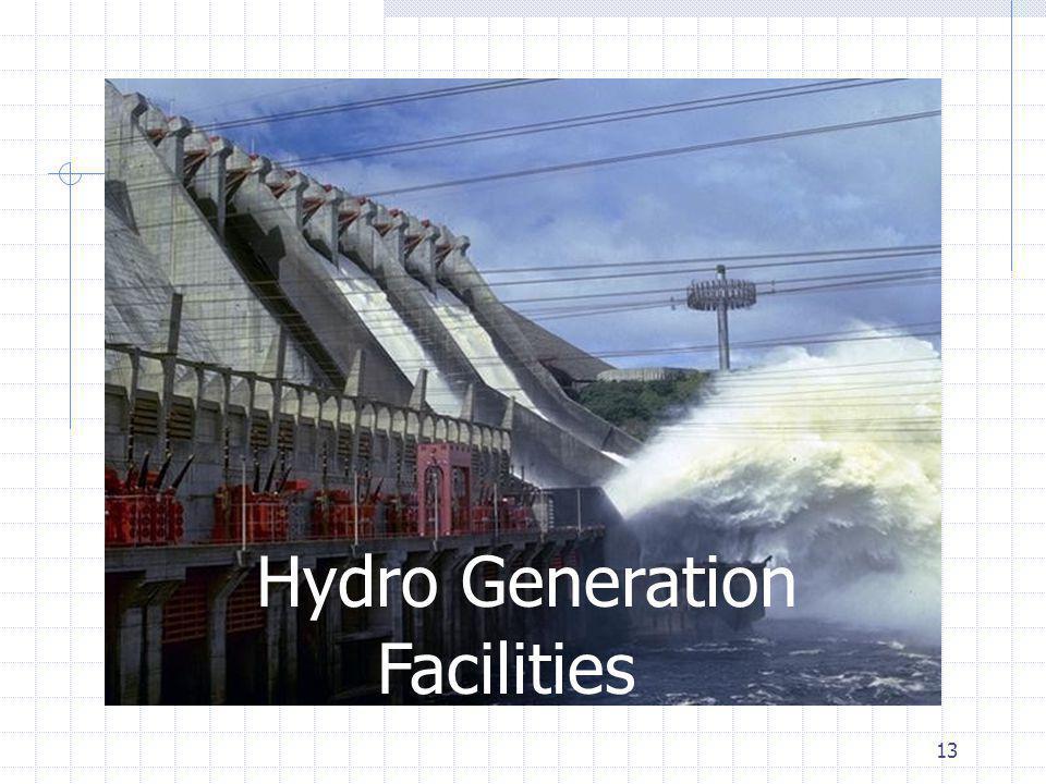 13 Hydro Generation Facilities