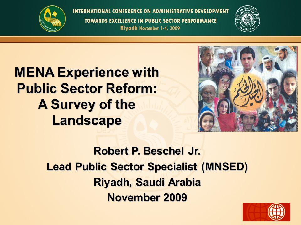 MENA and Transparency Internationals CPI