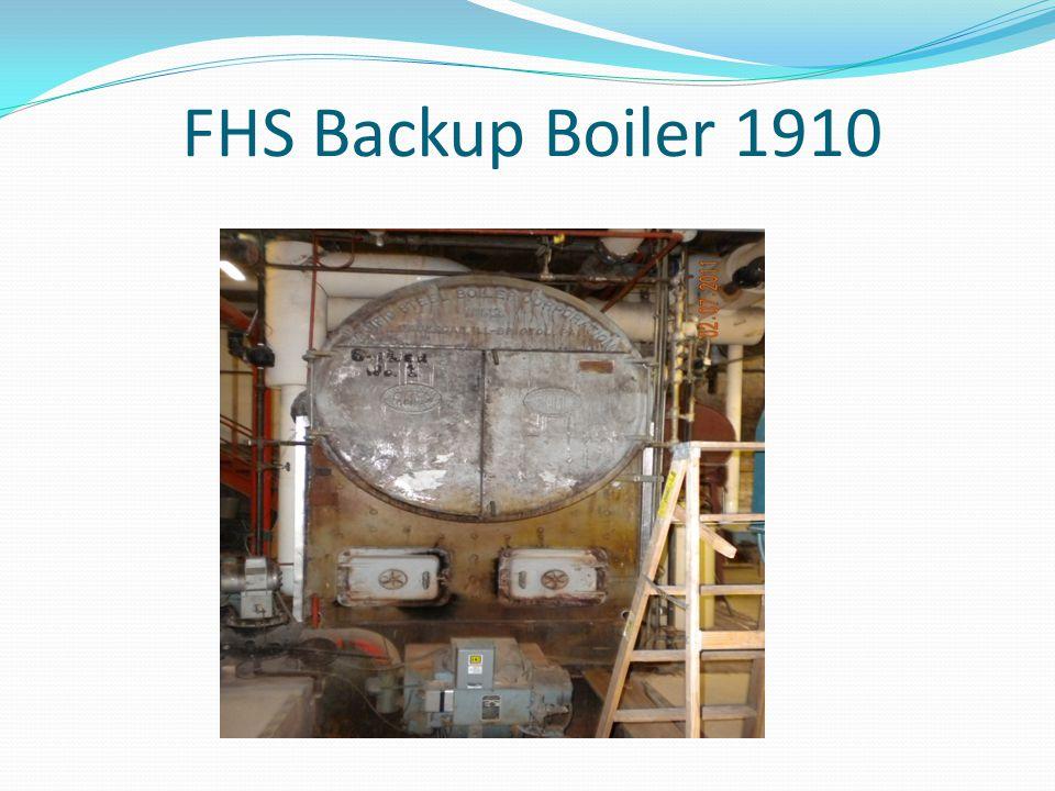 FHS Backup Boiler 1910