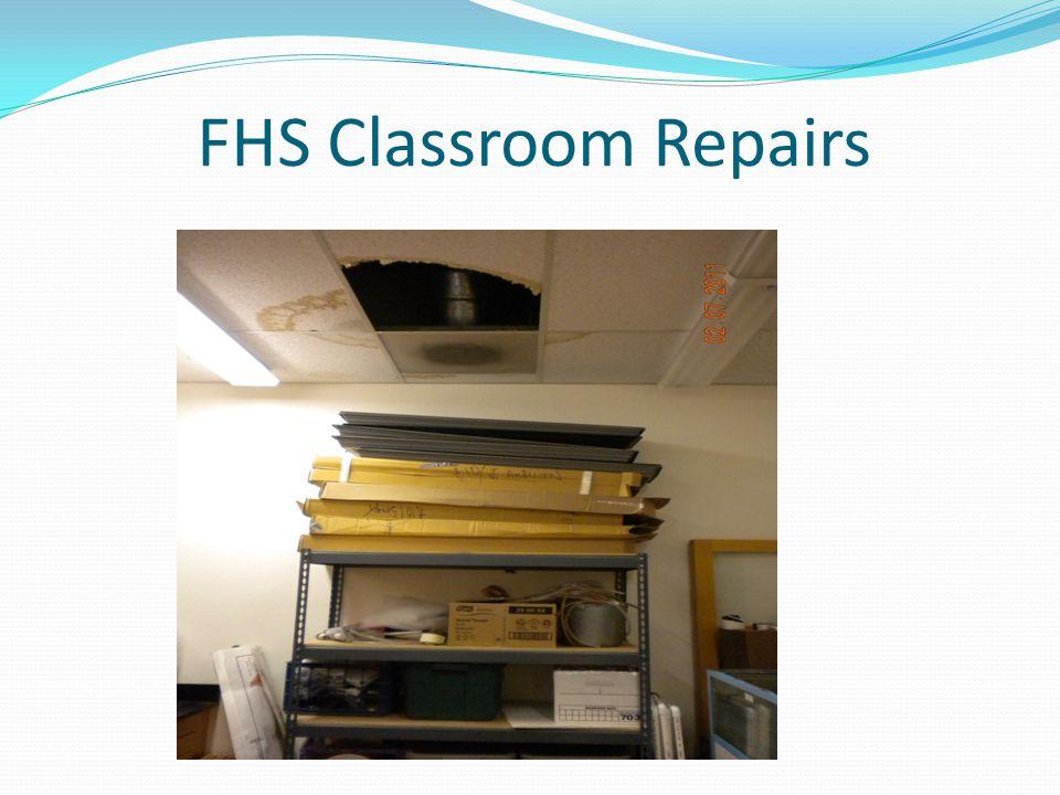 FHS Classroom Repairs