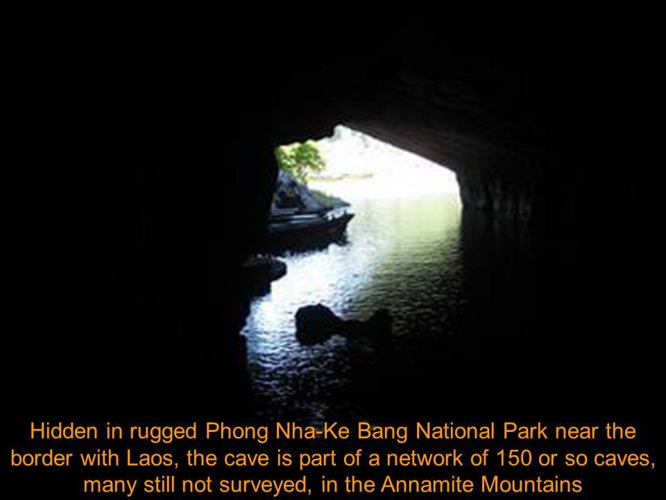 British scientists from the British Cave Research Association, led by Howard and Deb Limbert, conducted a survey in Phong Nha-Ke Bang from April 10-14, 2009