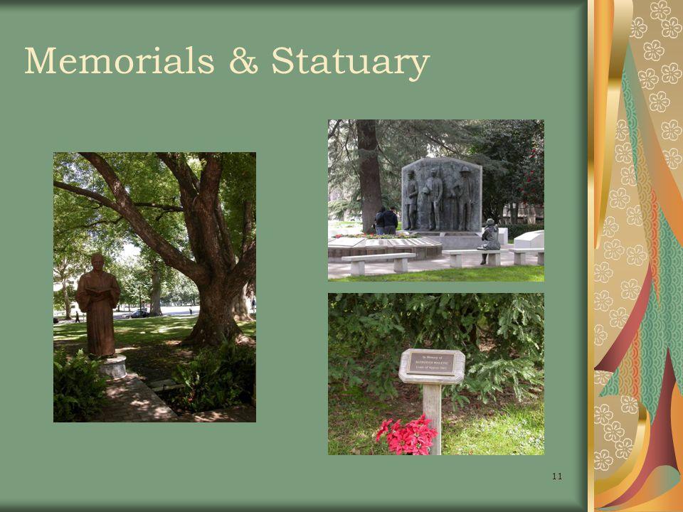11 Memorials & Statuary