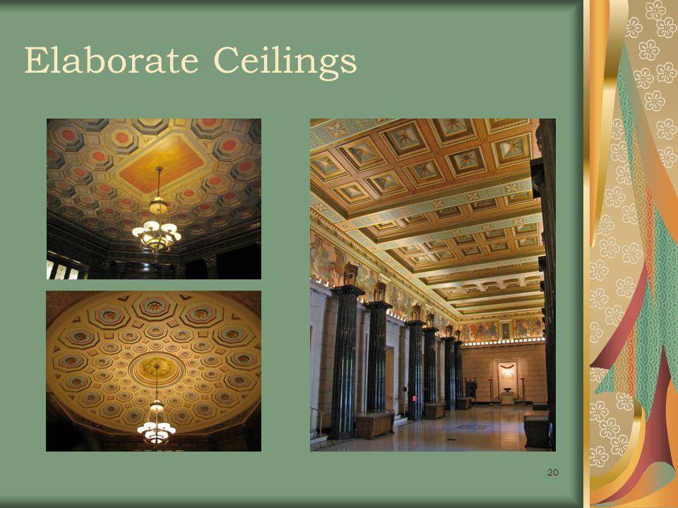 20 Elaborate Ceilings