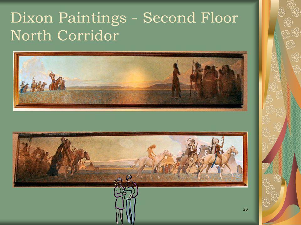 23 Dixon Paintings - Second Floor North Corridor