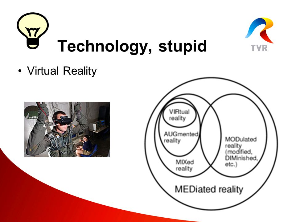 Virtual Reality Technology, stupid