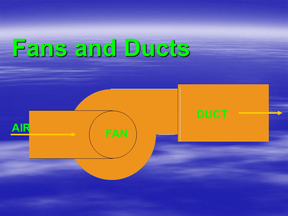 Fans and Ducts FAN DUCT AIR