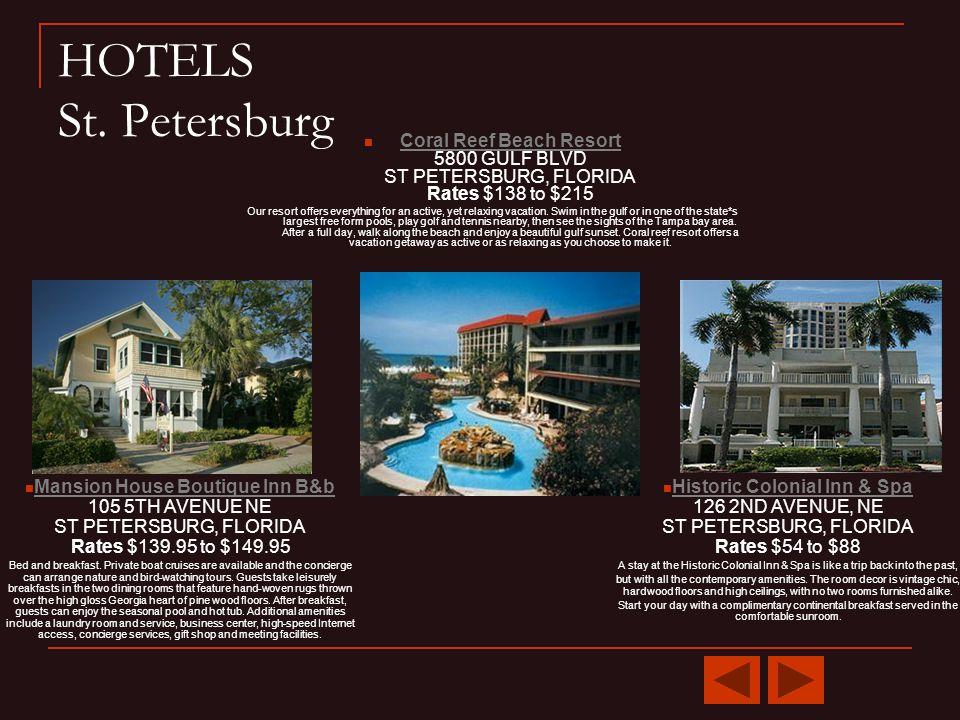 HOTELS St.