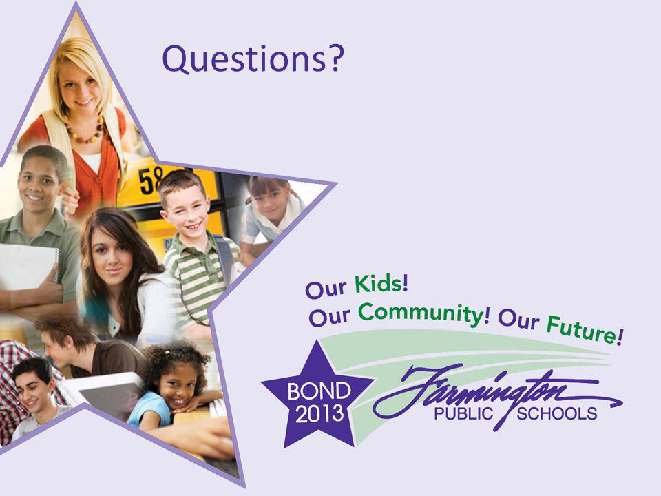 Our Kids! Our Community! Our Future! Questions?