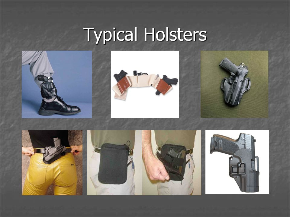 Typical Holsters