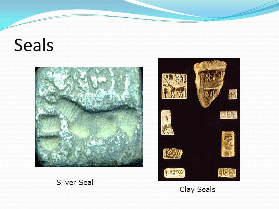 Seals Silver Seal Clay Seals