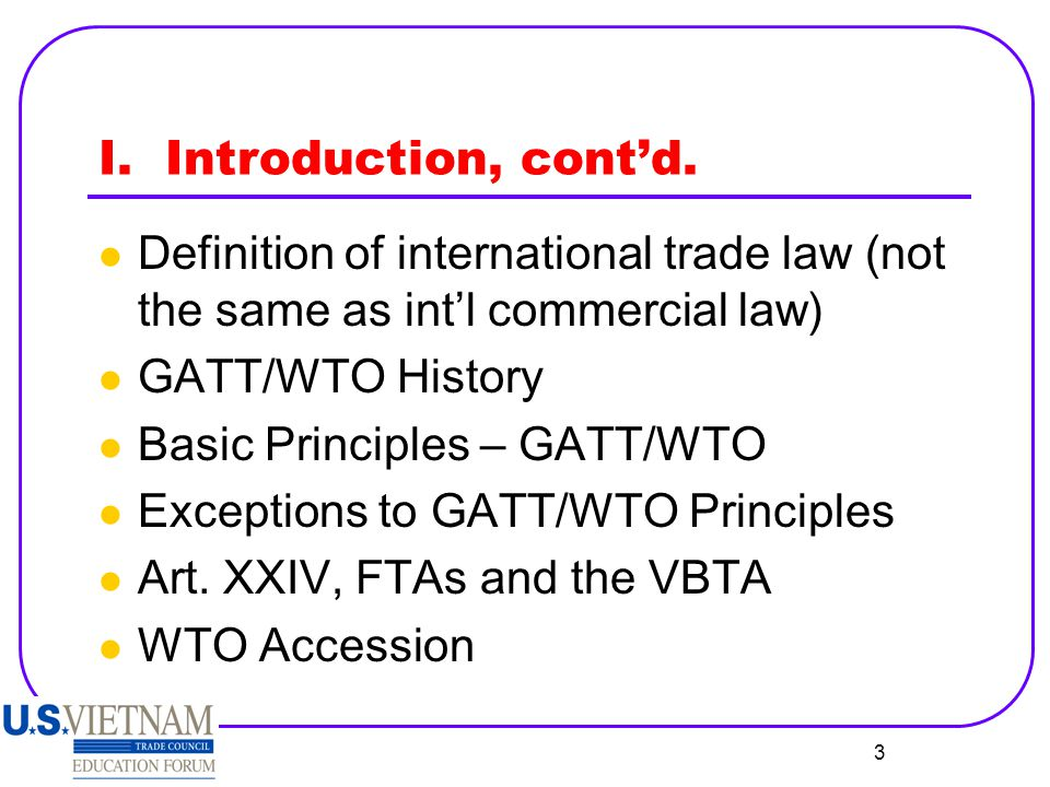 4 I.Introduction, contd.