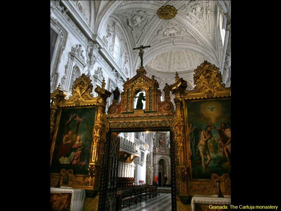 Granada: The Cartuja monastery www.padilla.adv.br/familia/andaluzia.pps