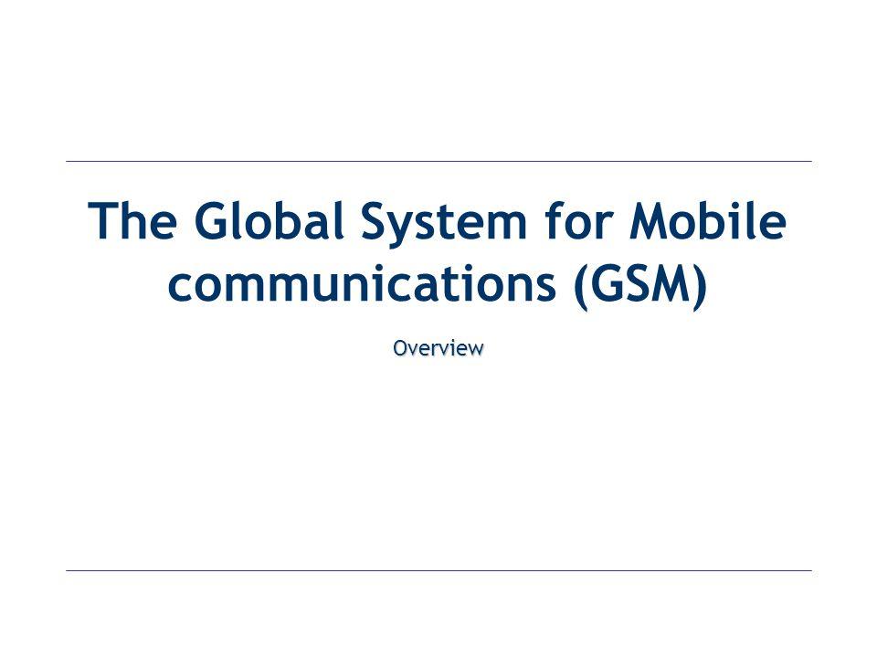 Digital Cellular Systems World-wide GSM D-AMPS Japan Digital PCS 1900 DCS 1800 CDMA