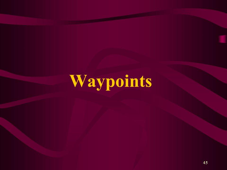 45 Waypoints