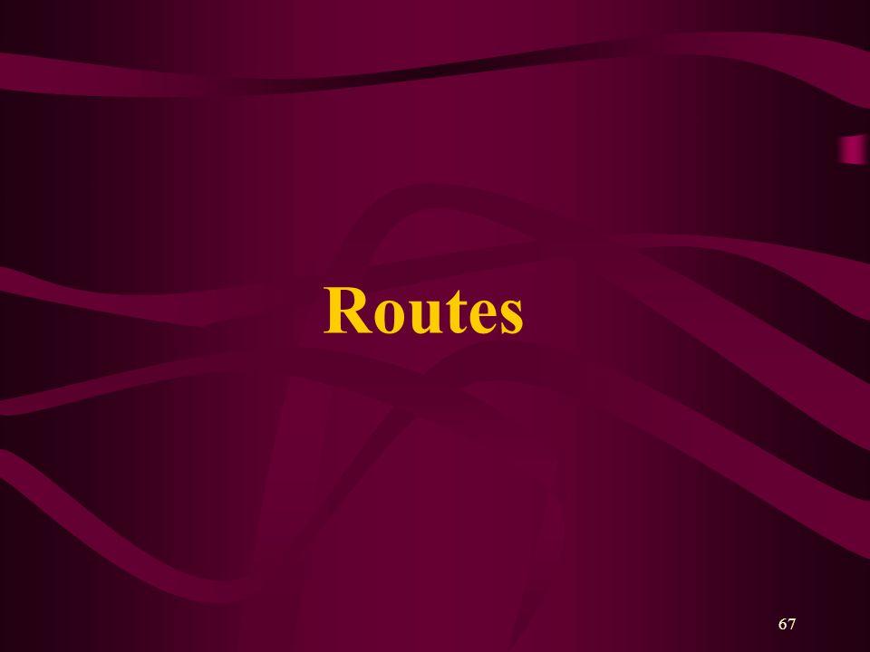 67 Routes