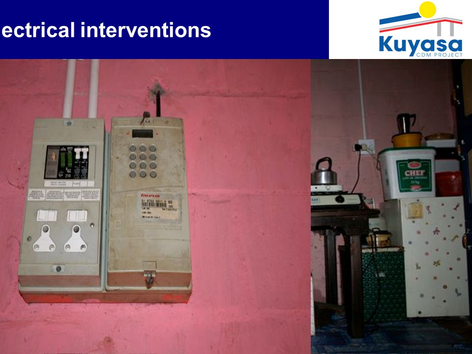 7 Electrical interventions