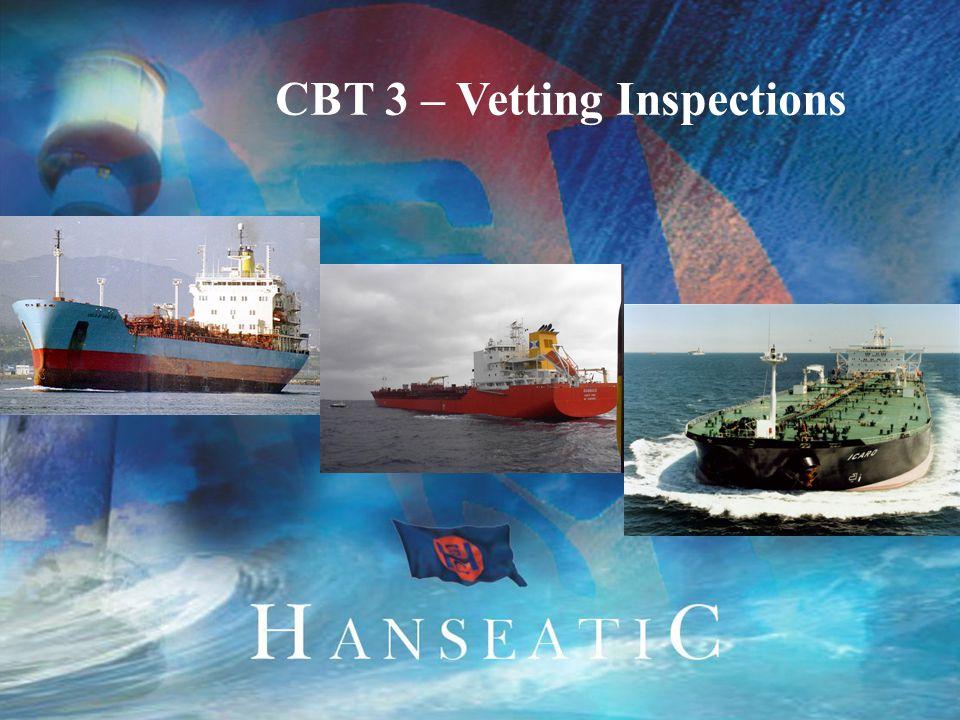 1 CBT 3 – Vetting Inspections