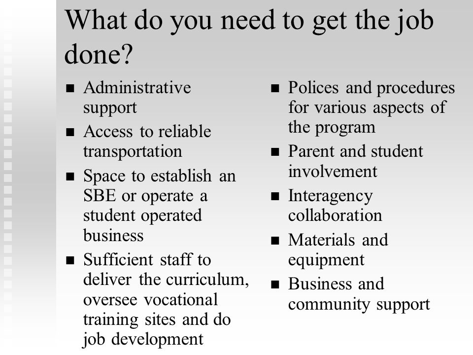 Computer Proficiency The IEP Team must determine the level of computer proficiency appropriate for each student enrolled in the OCS. The IEP Team must