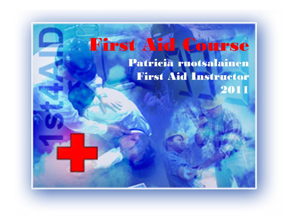 Course Outline Introduction Test your First Aid knowledge and skills Principals of First Aid Basic Human Anatomy (Bonus) Assess the situation Call for help Unconscious victim Airway obstruction CPR Shock Bleeding & infections Fractures & soft tissue injuries Medical emergencies
