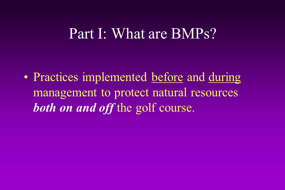 Efficacy of Land Use BMPs Total phosphorus in sampled surface water Data courtesy of US Environmental Protection Agency