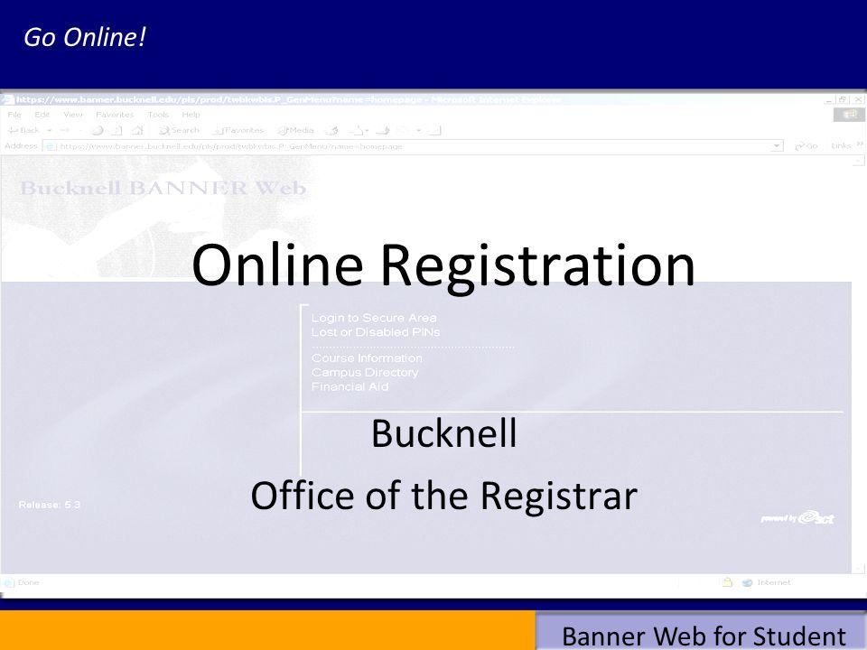 Banner Web for Student Registration Errors cont.