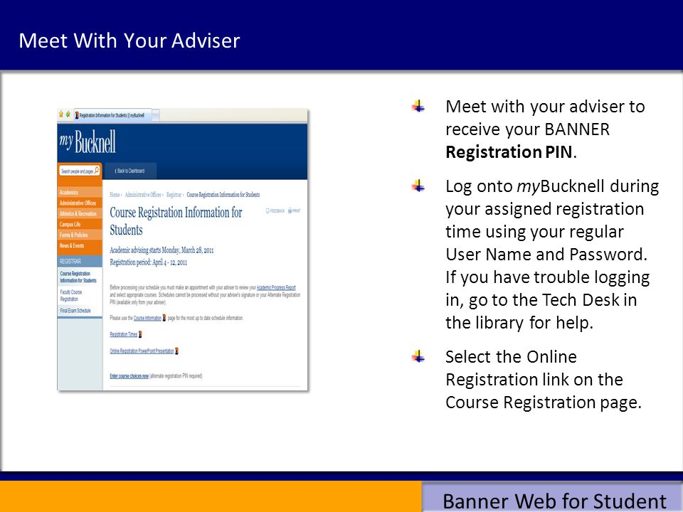 Banner Web for Student Navigation Select Term here Choose Add Classes