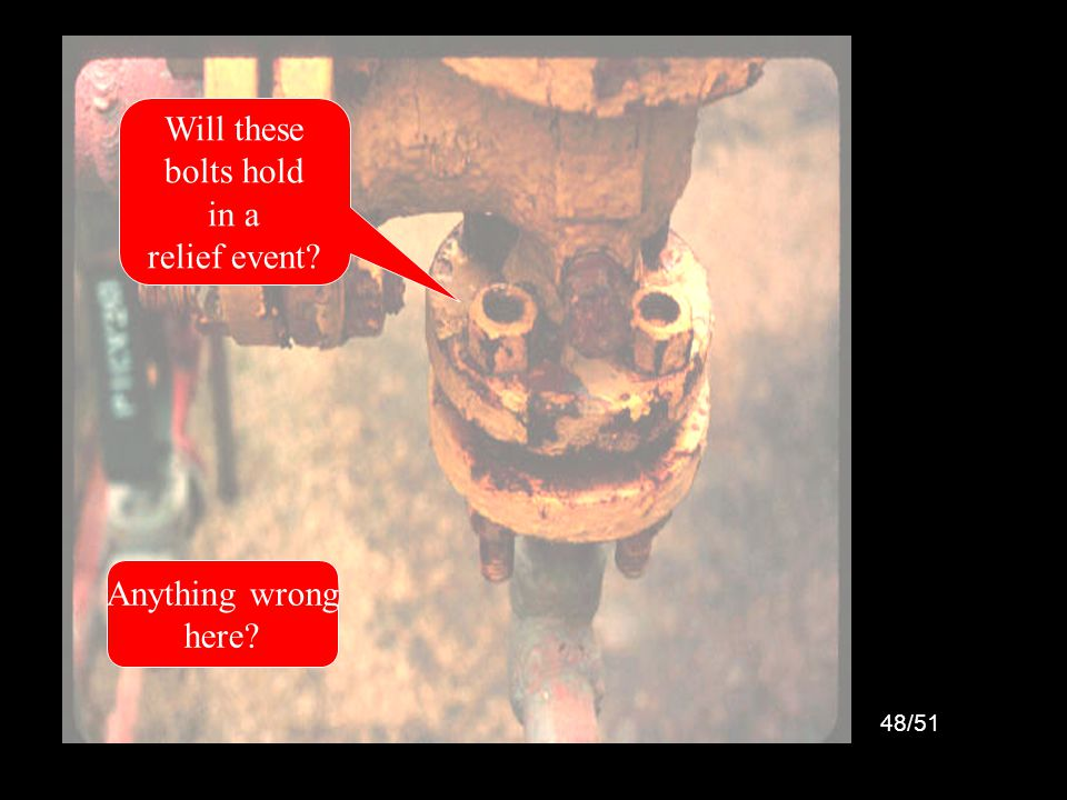 49/51 Mexico City Disaster Major Contributing Cause: Missing Safety Valve