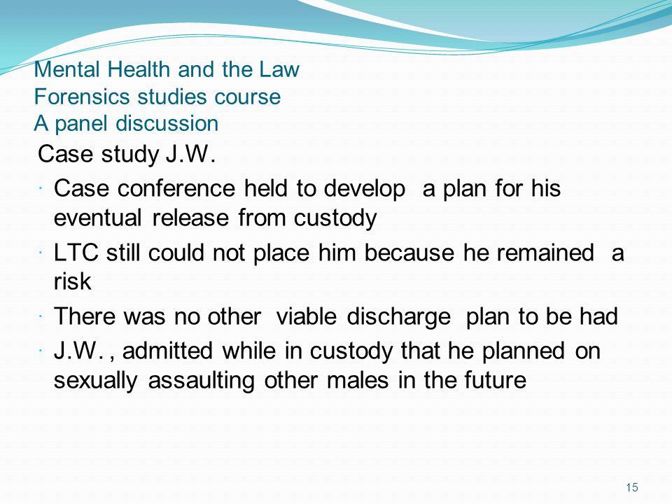 Case study J.W.