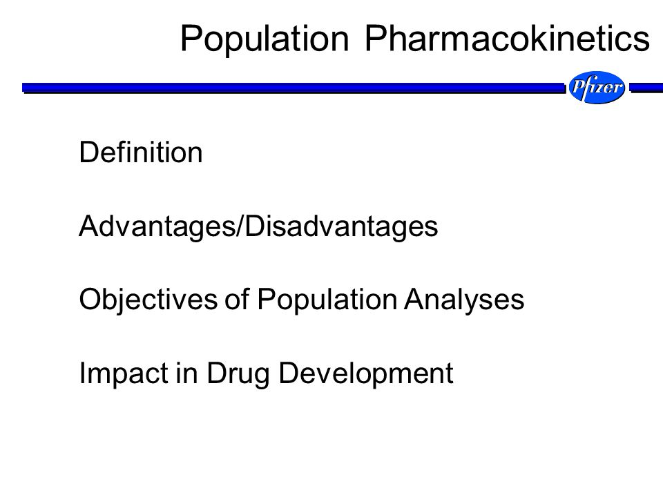 Population pharmacokinetics describe The typical relationships between physiology (both normal and disease altered) and pharmacokinetics/pharmacodynamics, The interindividual variability in these relationships, and Their residual intraindividual variability.