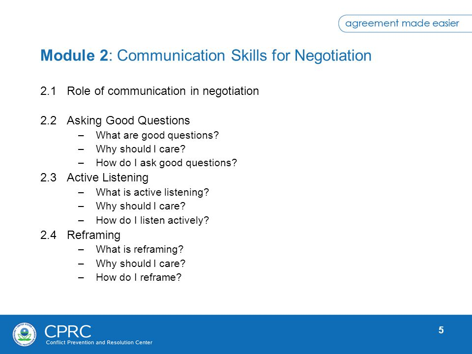 6 2.1 Role of Communication in Negotiation The single biggest problem in communication is the illusion that it has taken place.