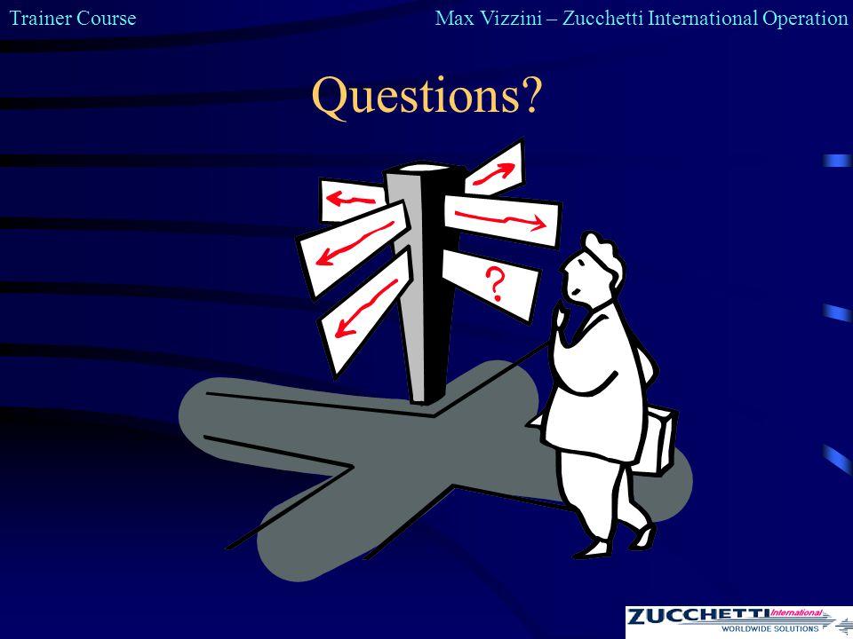 Trainer CourseMax Vizzini – Zucchetti International Operation Questions