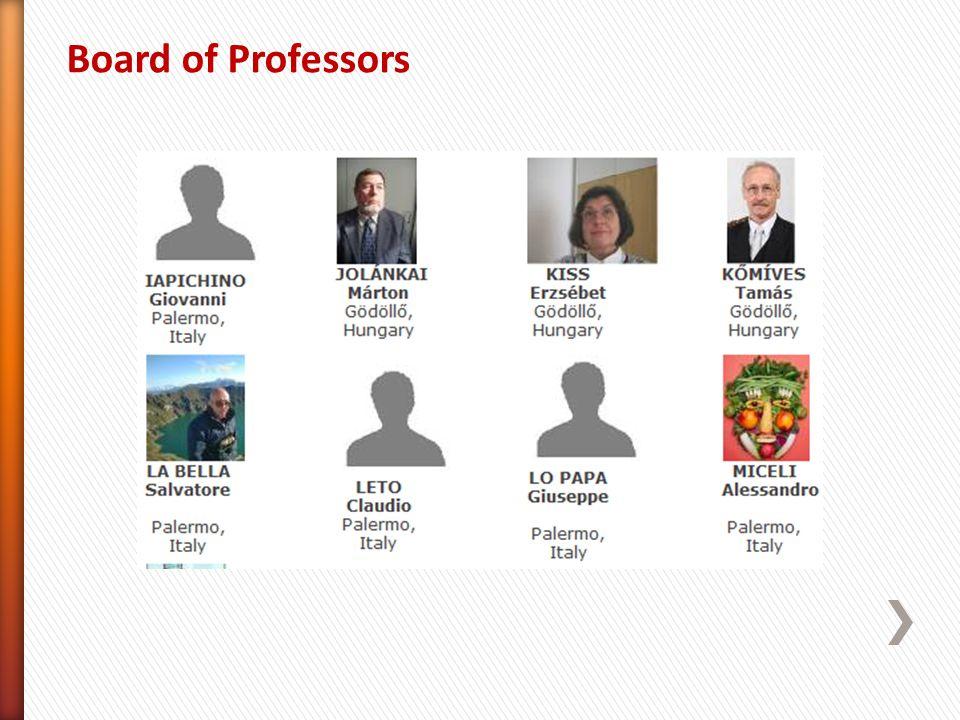 Board of Professors