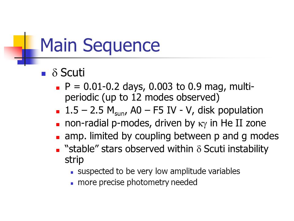 Main Sequence Scuti http://users.skynet.be/bho/deltascutis.htm