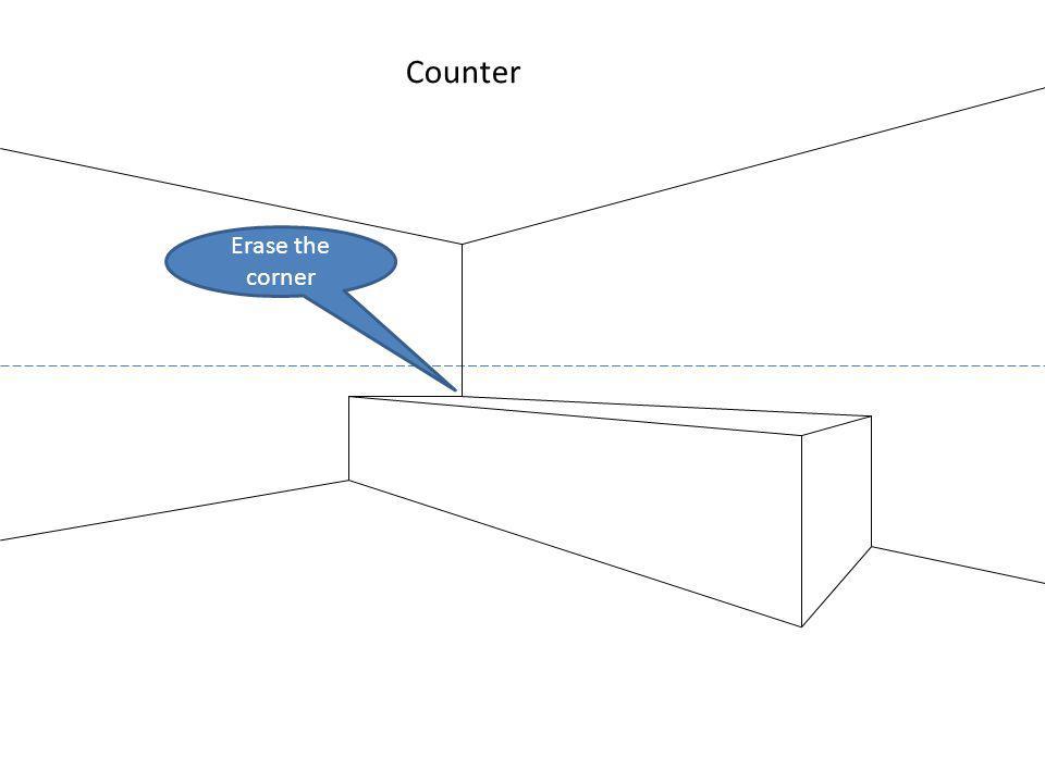 Erase the corner