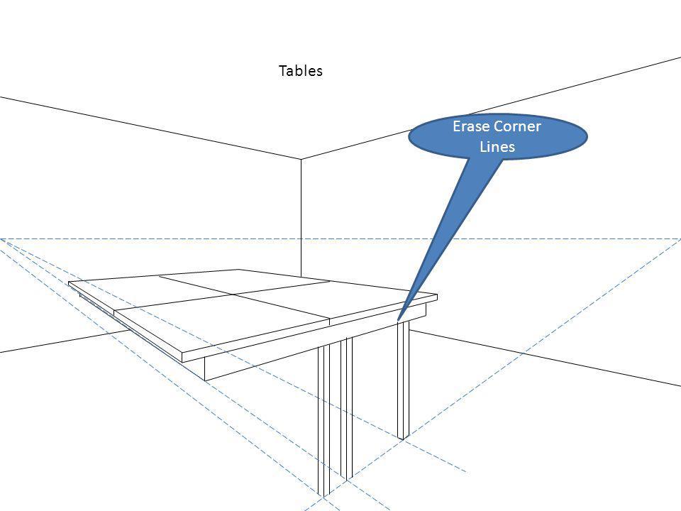 Tables Erase Corner Lines